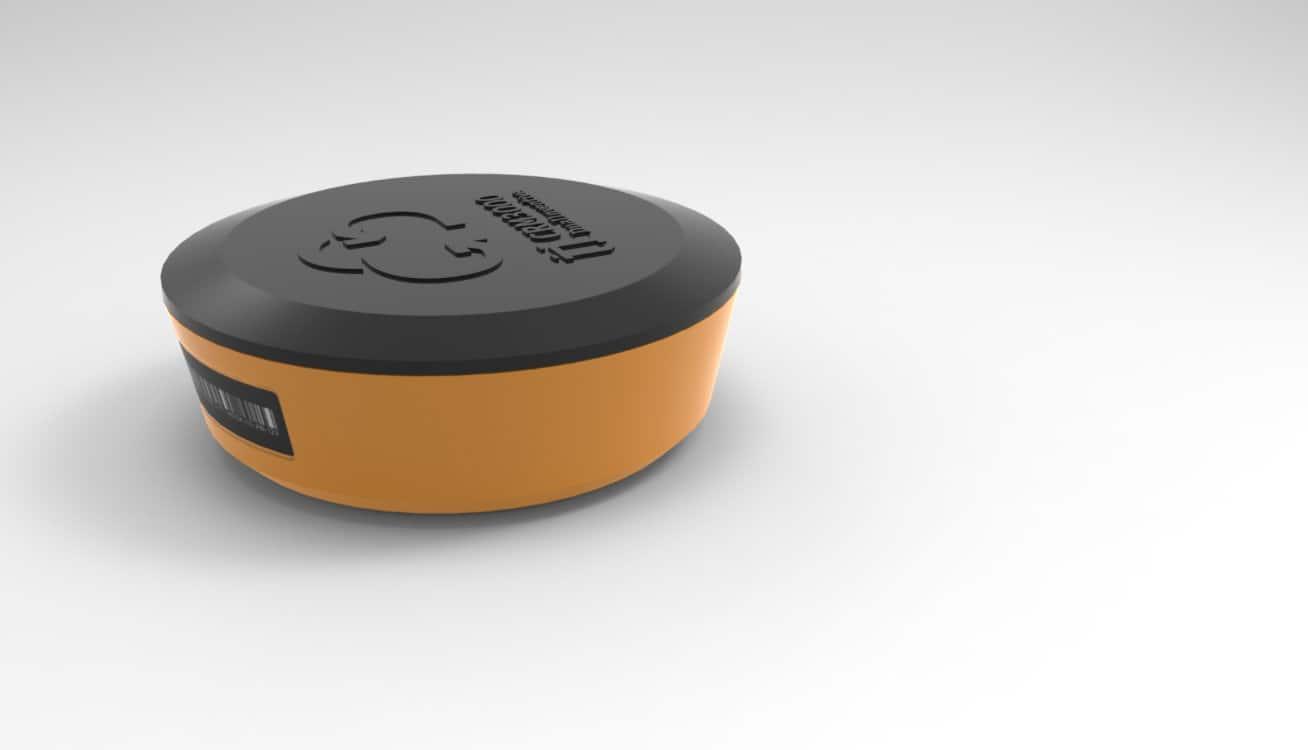 CRM 3000 - NB-IoT sensor - temperatuur spoorstaaf en scheefstand objecten