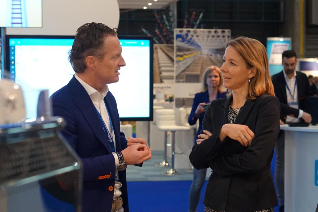 Staatssecretaris Stientje van Veldhoven - Dual Inventive - RailTech Europe 2019