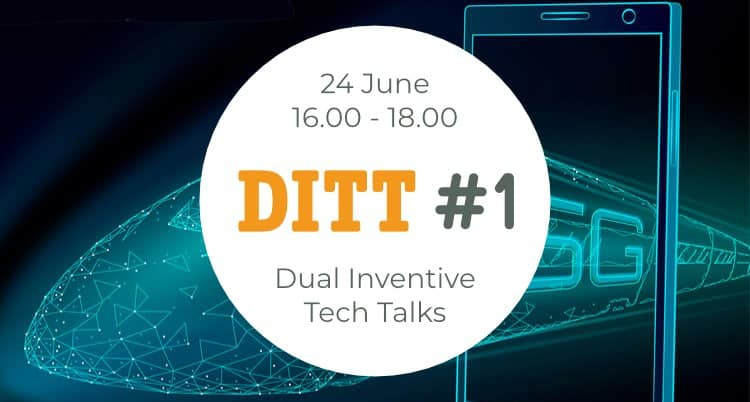 Welke impuls geeft 5G aan de rail sector? - Dual Inventive Tech Talks - DITT